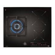 TEKA Placa de gas y vitrocerámica TEKA IG 620 1G AI AL DR CI (Eléctrica y Gas natural - 60 cm - Negro)