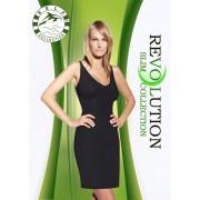 Self Zeštíhlující šaty F020 - Self černá XS/S