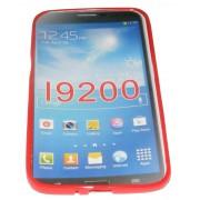 Силиконов гръб ТПУ за Samsung Galaxy I9200 Mega 6.3 Червен