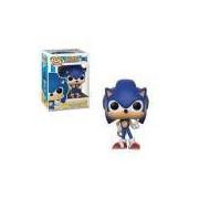 Boneco Pop Funko 283 Sonic The Hedgehog: Sonic With Ring