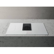 Elica NIKOLATESLA LIBRA WH/A/83 Libra Induction Hob with Integrated Scale-White-Duct Out