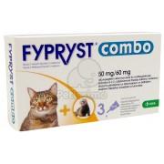 Fypryst Combo soluție spot on pentru pisici și dihori 1 x 0,5 ml