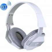 OVLENG BT-606 Bluetooth draadloze Stereo muziek hoofdtelefoon met Mic voor iPhone Samsung Huawei Xiaomi HTC en andere Smartphones alle Audio-apparaten (wit)