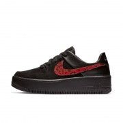 Nike Scarpa Nike Air Force 1 Sage Low Premium Animal - Donna - Nero