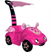 Carrito Best Toys para Bebés con Sujetador Dirigible-Rosa.