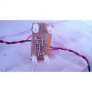 Constructed Door Bell Micro And Mini Project For Electronics Students Or Simple Doorbell