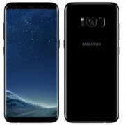 Begagnad Samsung Galaxy S8 64GB Midnight Black Olåst i bra skick Klass B