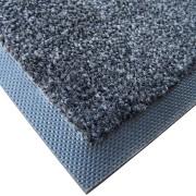 Antracitová textilní vstupní vnitřní čistící zátěžová rohož Magic - délka 500 cm, šířka 200 cm a výška 0,8 cm