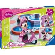 PUZZLE MINNIE MOUSE IN PARC 3x49 PIESE Ravensburger