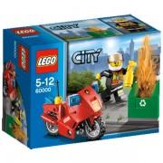 Lego City - 60000 : La Moto Des Pompiers