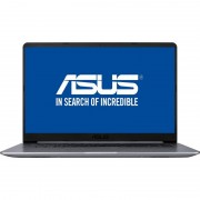 "Laptop Asus VivoBook S510UN-BQ218, 15.6"" FHD Antiglare, Intel Core I5-8250U, nVidia GeForce MX150 2GB GDDR5, RAM 8GB DDR4, HDD 1TB, EndlessOS"