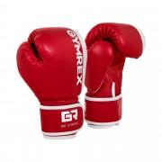 Gants de boxe pour enfants - 6 oz - Rouge et blanc