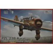 IBG Models Model bombowca PZL 23B Karaś do sklejania w skali 1-72