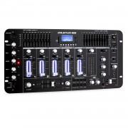 Auna Pro Kemistry 3 В 4-канален DJ пулт Bluetooth USB SD Phono черен (DJMM2-KEMISTRY-3-B)