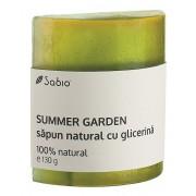 Sapun natural cu glicerina - Summer Garden, 130 g