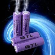 EH 4pcs 3.7V 2300mAh 14500 Batería Recargable Del Li-ion Del AA Para Los Aviones De RC