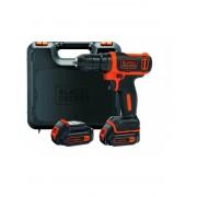 BLACK+DECKER Akumulatorska bušilica-odvrtač BDCDD12KB Set sa 2 baterije