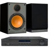 Pachete PROMO STEREO - Monitor Audio - Monitor 100 + Cambridge Audio Topaz AM10 Walnut