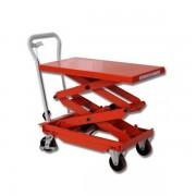 PROVOST Table élévatrice manuelle premium double ciseaux 300 kg