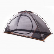 DERYAN Палатка за легло против комари, 200x90x110 см, черна