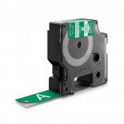 Etichete industriale autocolante DYMO ID1 vinil 19mm x 5.5m alb verde 1805420