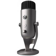 Arozzi Colonna Table microphone Alámbrico Plata Micrófono (Table microphone, 20 20000 Hz, Omnidirectional/Bidirectional microphone, 24 Bit, 192 kHz, Alámbrico)