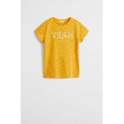 Mango Kids - Tricou copii Yeah 110-164 cm