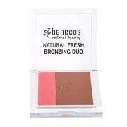 Benecos Natural fresh bronzing duo Ibiza night 8g