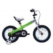 """Dječji bicikl Buttons 14"""" - zeleni"""
