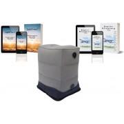 Vliegtuigbedje van LightTravel® - Reiskussen - Voetensteun - Voetenkussen - Kinderbedje - 3 Standen - 2 E-books voor Kinderen & Ouders