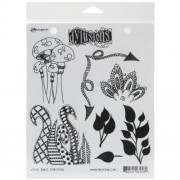 Ranger Dyan Reaveley's Dylusions Cling Stamp Collections, 8.5 by 7-Inch, Doodle Parts