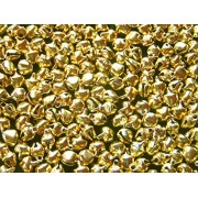 Anshartandcraft Metal Bells ( Ghungroo) Round 8MM : 50 Grams Pack (Metal Bell Golden)