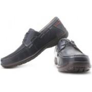 Clarks Un Cape6 Loafers For Men(Brown, Blue)