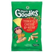 Snack Organix Goodies, Rosii, Branza si Ierburi, 4x15 g, de la 1 an