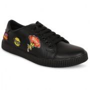 stylish step black casual shoe