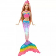 Barbie Rainbow Lights Mermaid Doll DHC40