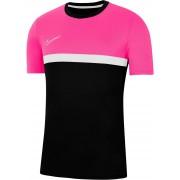 Nike T-shirt Dry Fit Academy Pro Shirt Kids Black Pink - Zwart - Size: 152