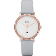Cluse Le Couronnement Rose Gold White/Soft Grey CL63001