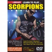 Roadrock International Lick Library: Learn To Play Scorpions DVD