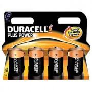 Duracell Plus Power Storlek D 4 Pack