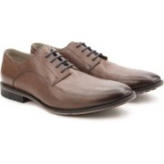 Clarks Gatley Walk Tan Leather Lace Up For Men(Tan)