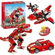 Pepperonz 374 pcs Roaring Power 3in1 Block Brick Toy 3116