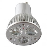 LED žárovka GU10 3xSMD 3x1W 3000-3500K teplá bílá - warm white