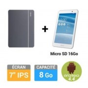 Pack MeMO Pad 7 ME176CX + Cover + Micro SD 16Go Blanc - Tablette tactile