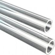 supporto endoscopi - 2 tubi in plastica trasparente