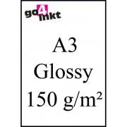 (Foto) papier Huismerk Glossy Photo-Papier (A3) 150g/m² (50st.)