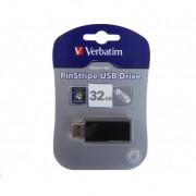 Pendrive Penna Usb Verbatim 32gb PinStripe Originale in confezione Blister Sigillata