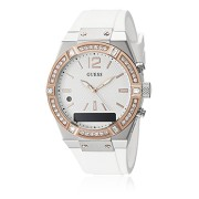 GUESS Connect Smartwatch White-Rosegold, C0002M2, Edelstahl