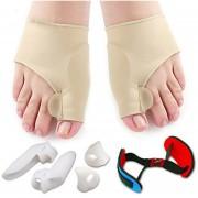 ER 7 Piezas Suave Protector De Juanetes Toe Plancha Separadores De Separación -Multicolor