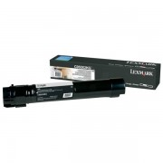 Lexmark Originale C 950 DE Toner (C950X2KG) nero, 32,000 pagine, 0.9 cent per pagina - sostituito Toner C950X2KG per C 950DE